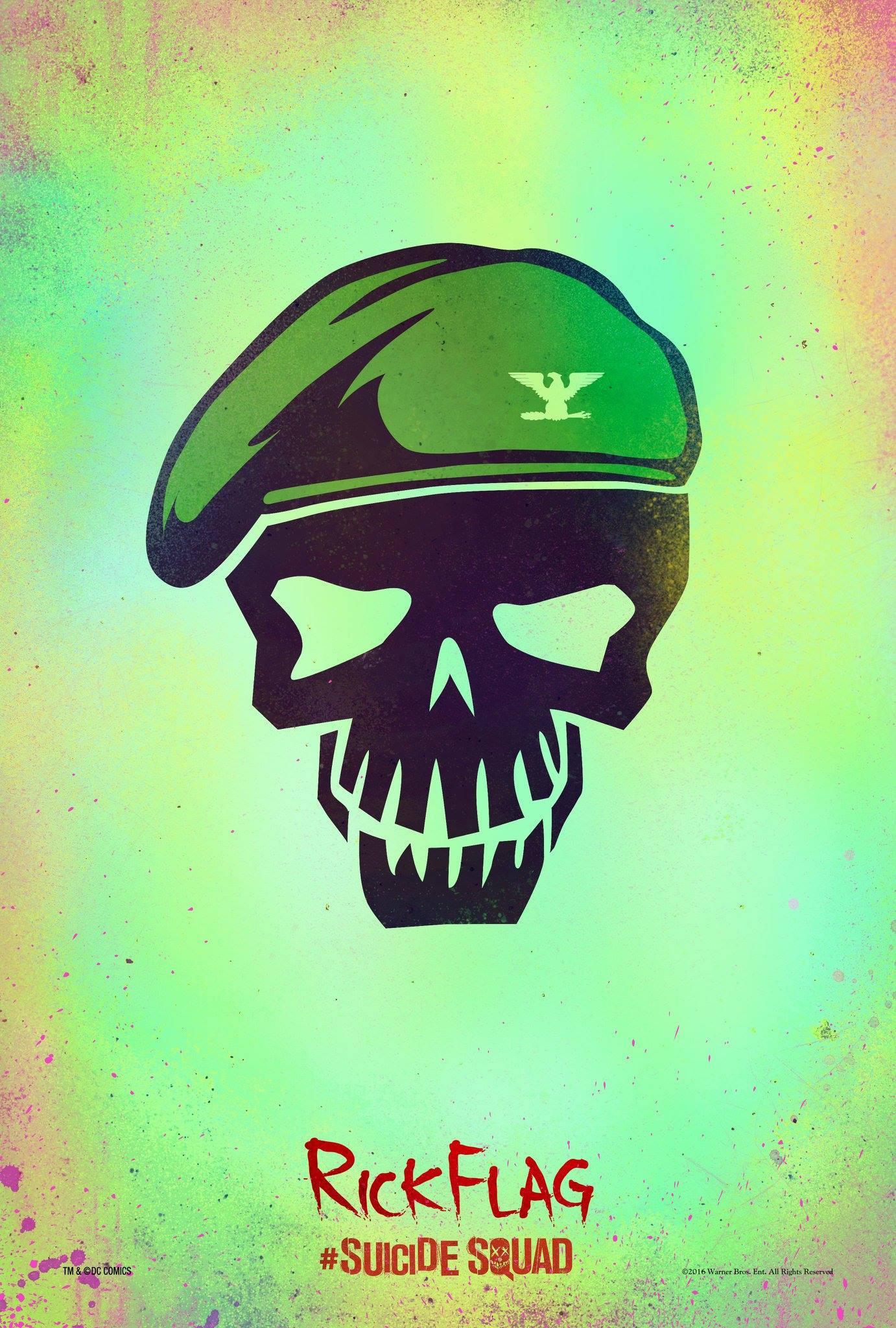 Suicide Squad: il character poster stilizzato di Rick Flagg