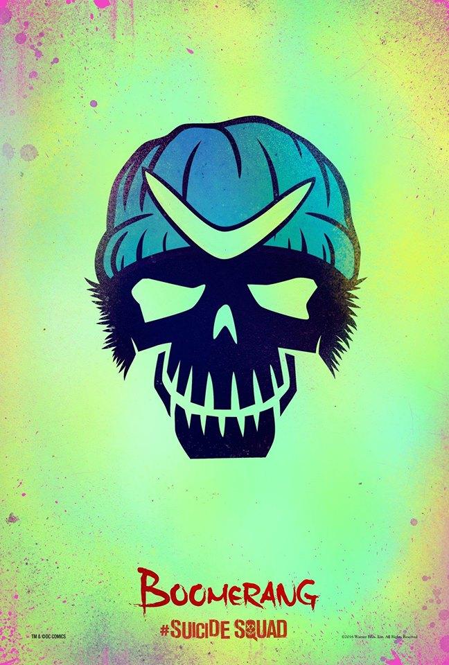 Suicide Squad: il character poster stilizzato di Boomerang