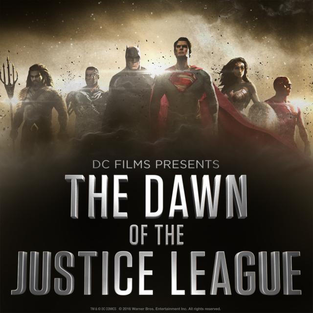 The Dawn of Justice League: un'immagine promozioanel