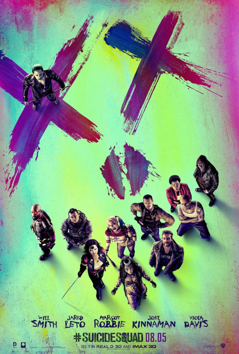 Suicide Squad: una nuova locandina del film