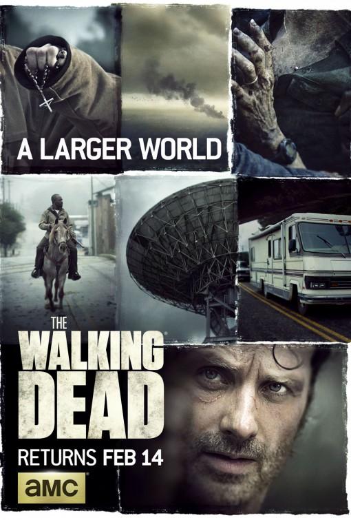 The Walking Dead: una locandina per la sesta stagione della serie