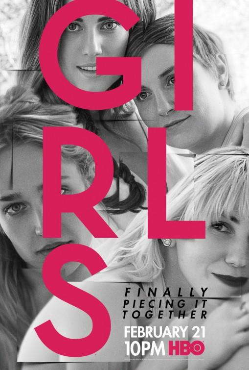 Girls: la locandina per la sesta stagione della serie