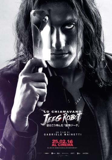 Lo chiamavano Jeeg Robot: Luca Marinelli nel secondo character poster del film