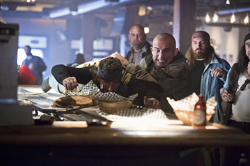 Legends of Tomorrow: Dominic Purcell è Heat Wave