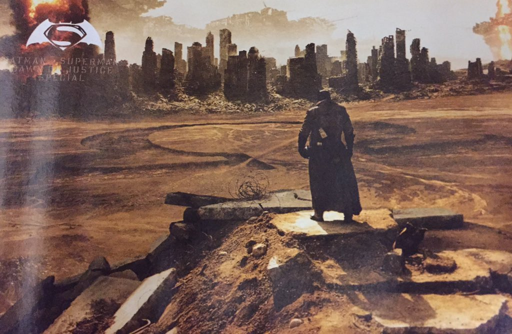 Batman v Superman: una foto tratta dal magazine Empire