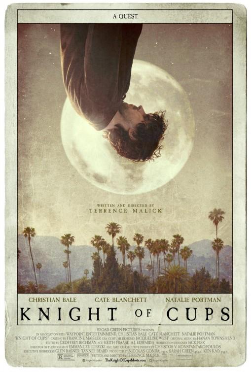 Knight of Cups: Christian Bale capovolto nella nuova locandina