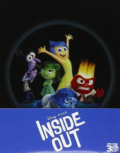 la cover della steelbook di Inside Out