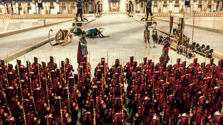 Gods of Egypt: Gerard Butler istruisce i soldati