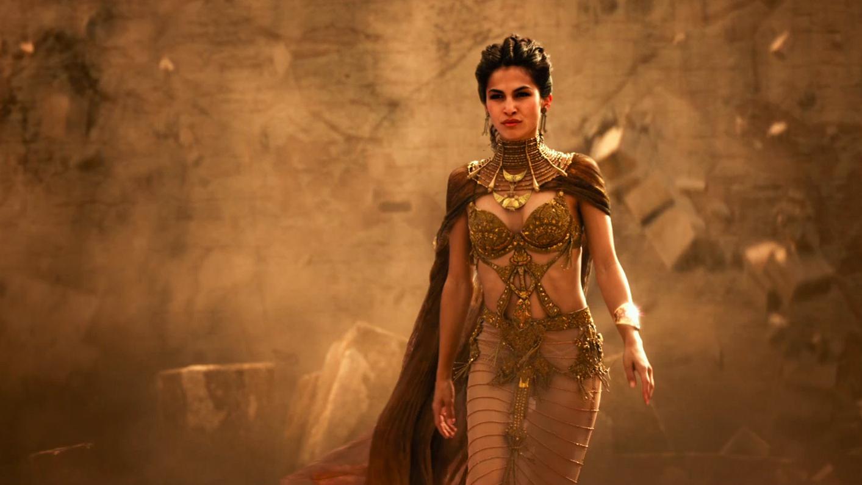 Gods of Egypt: una bella immagine di Elodie Yung