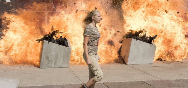 Heroes Reborn: l'attrice Danika Yarosh in un'immagine dell'episodio Project Reborn