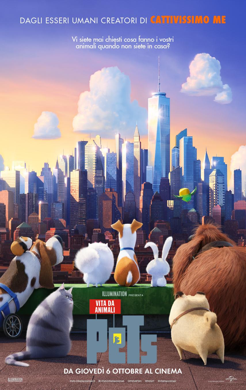Pets - Vita da animali: una nuova locandina del film