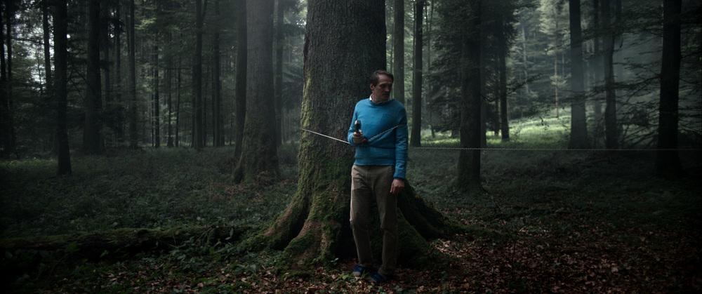 Aloys: Georg Friedrich in una scena del film