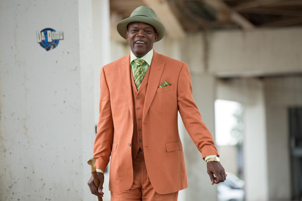 Chi-Raq: Samuel L. Jackson in un'immagine del film