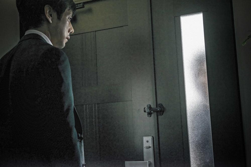 Creepy: Hidetoshi Nishijima in un momento del film