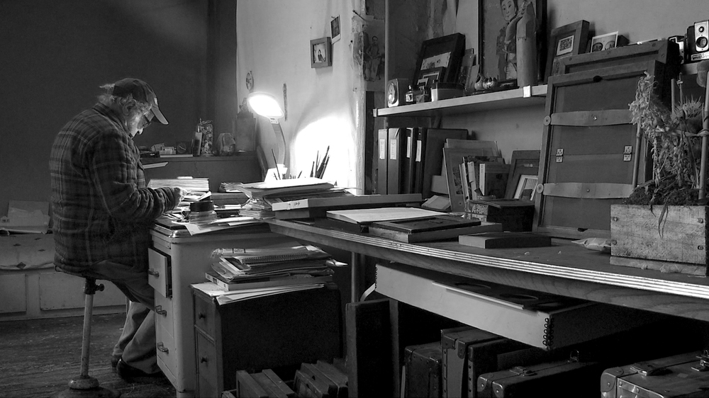 Don't Blink - Robert Frank: Robert Frank in una scena del documentario