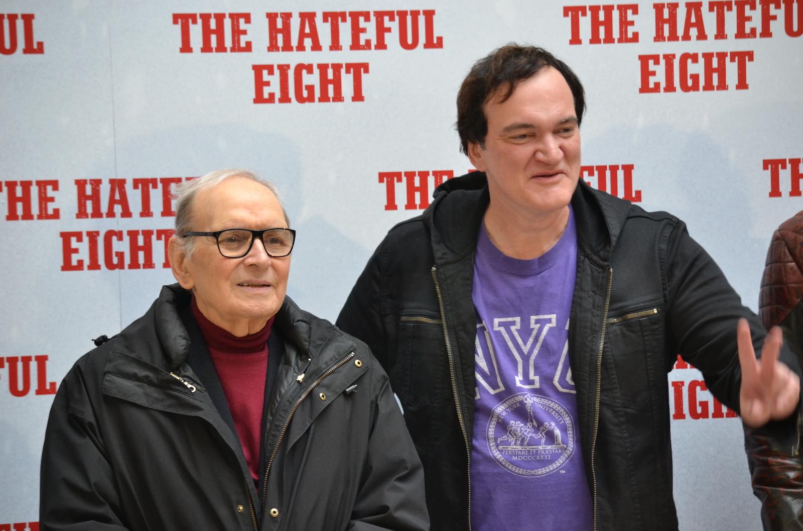 The Hateful Eight: Tarantino e Morricone a Roma