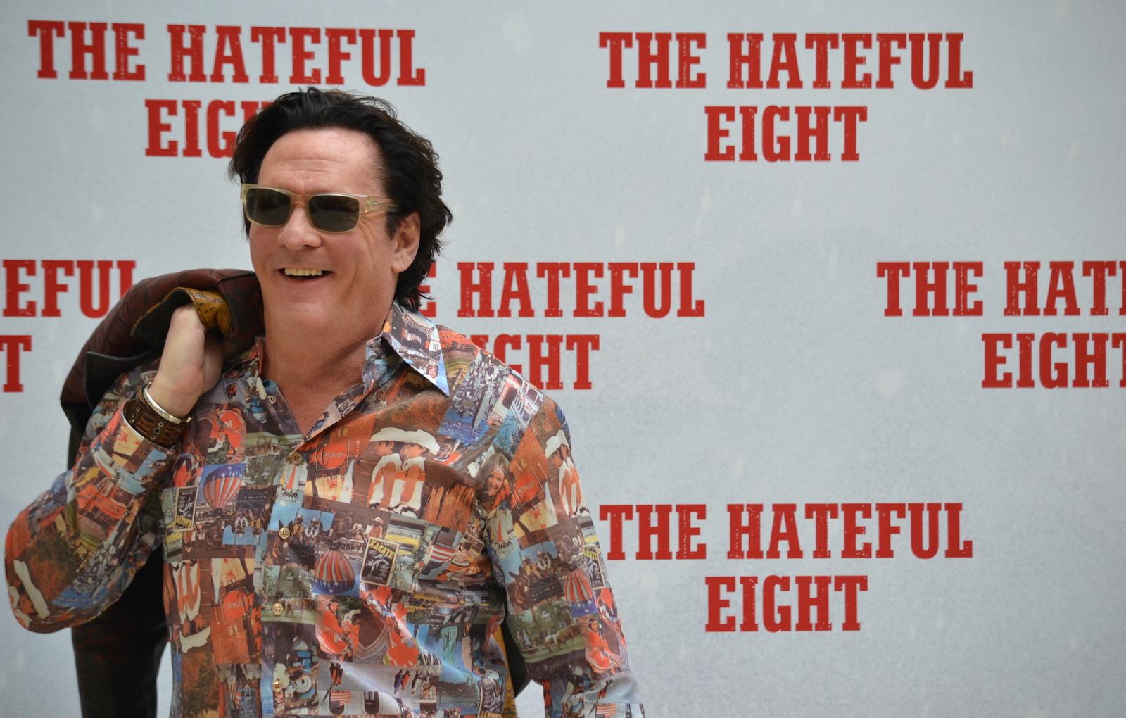 Michael Madsen a Roma per The Hateful Eight