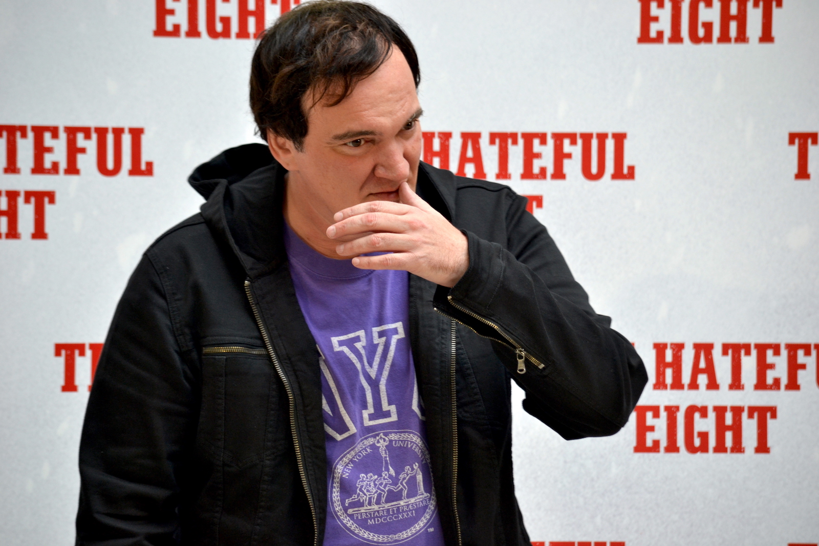 Tarantino presenta The Hateful Eight a Roma