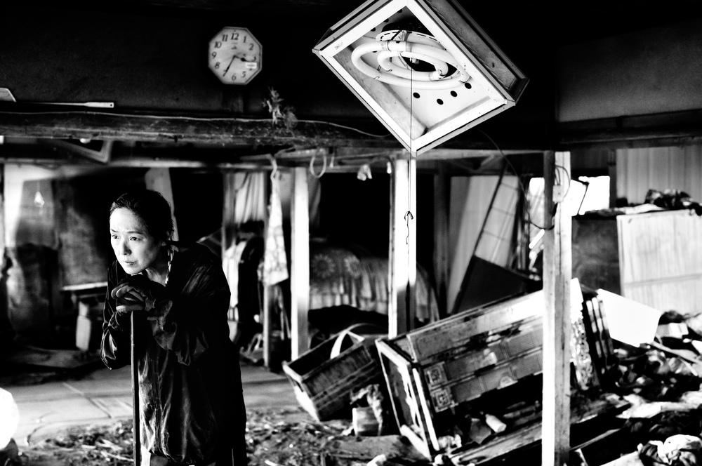 Fukushima, mon amour: Kaori Momoi in un momento del film