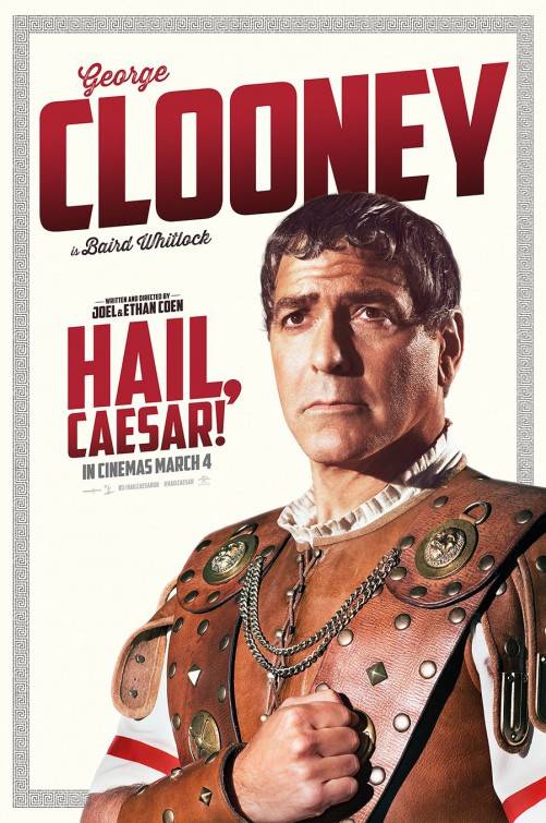 Ave, Cesare! - Il character poster di George Clooney