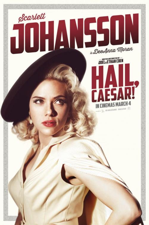 Ave, Cesare! - Il character poster dedicato all'attrice Scarlett Johansson