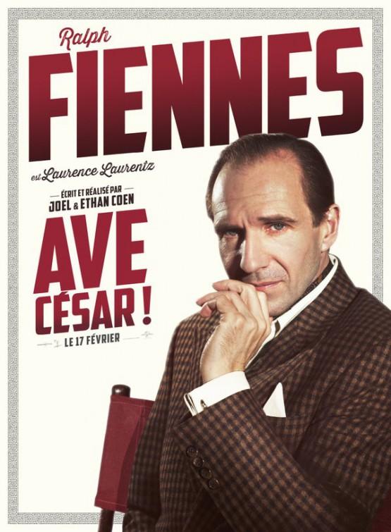 Ave, Cesare! - Il character poster dedicato a Ralph Fiennes