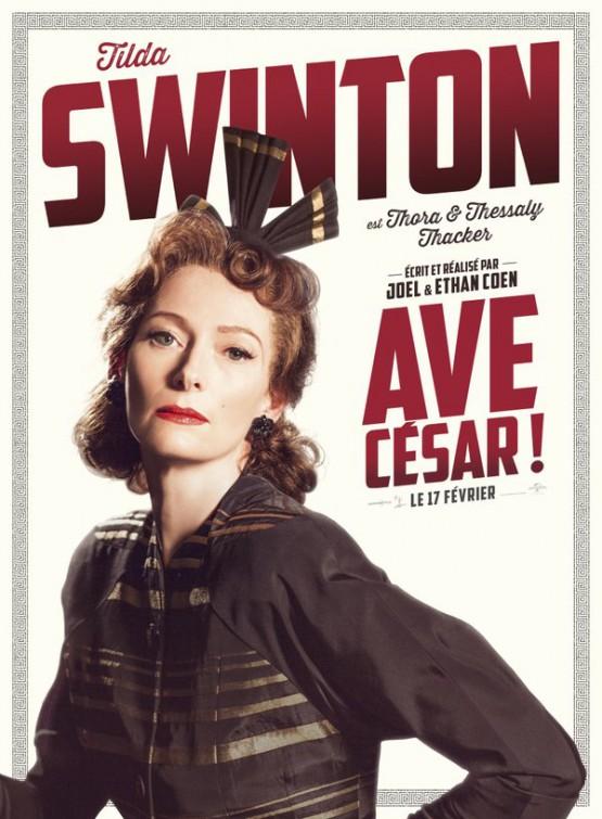 Ave, Cesare! - Il character poster di Tilda Swinton