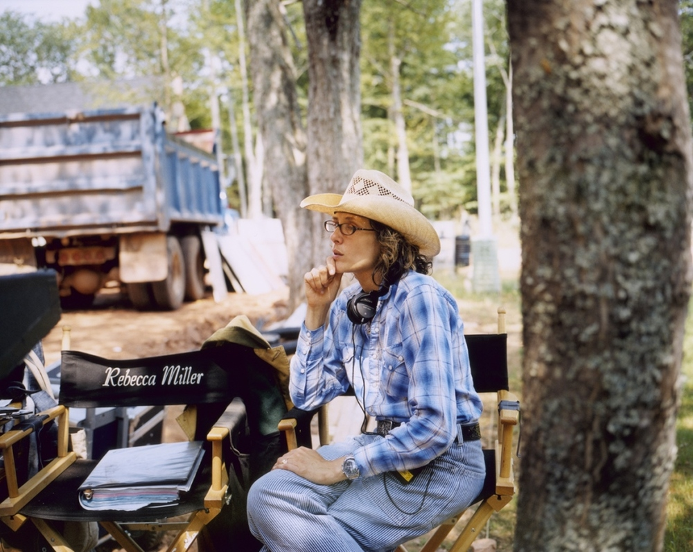 Maggie's Plan: Rebecca Miller pensierosa sul set del film