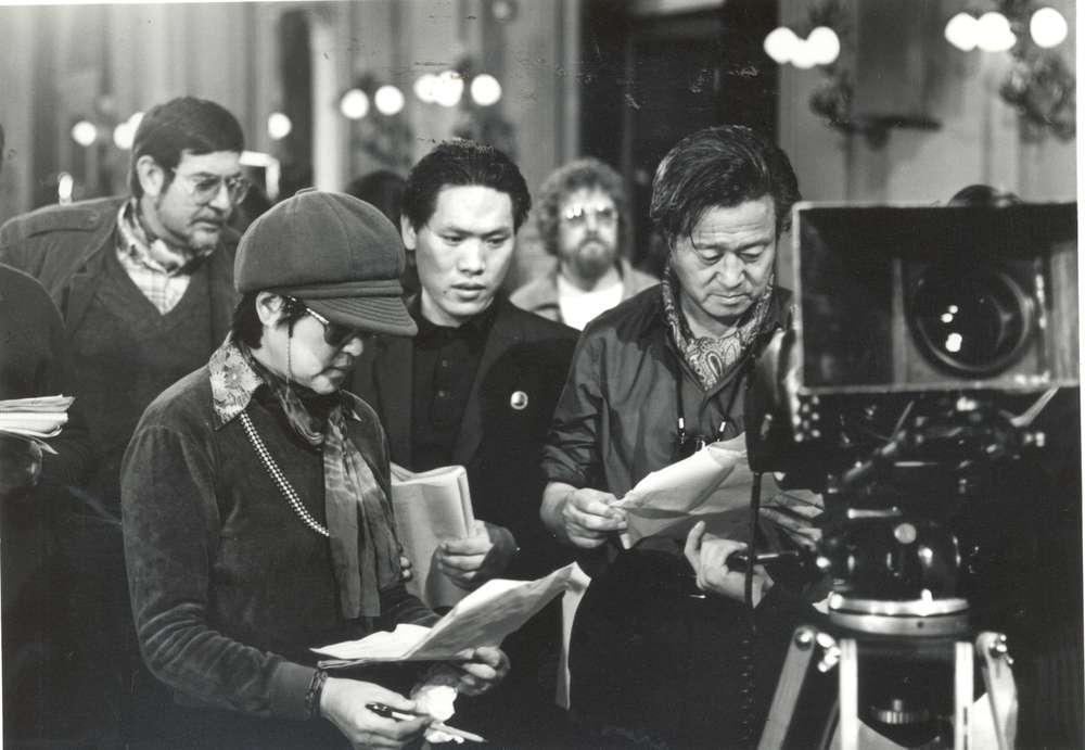 The Lovers and the Despot: la troupe al lavoro sul set del film