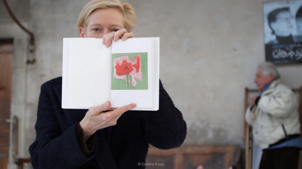 The Seasons in Quincy: Four Portraits of John Berger, Tilda Swinton in un'immagine del documentario