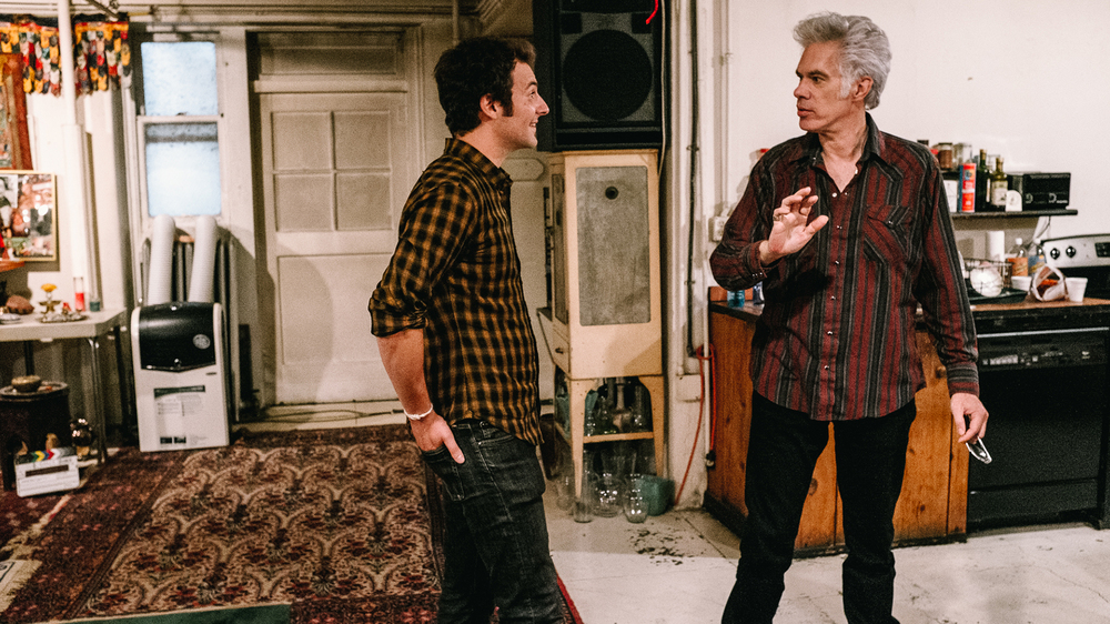 Uncle Howard: Aaron Brookner e Jim Jarmusch in una scena del documentario