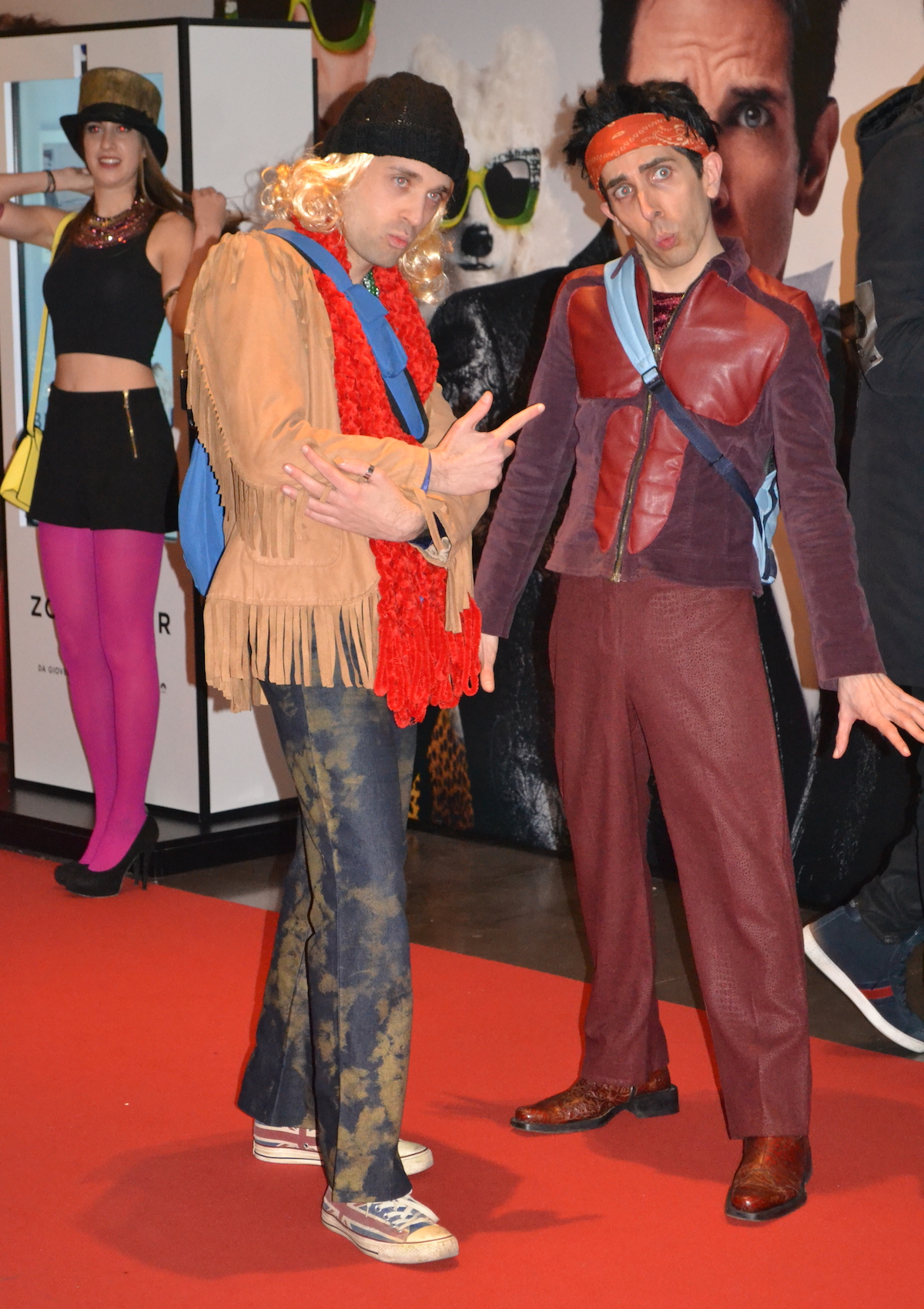 Zoolander 2: cosplayer posano alla Fantastic Zoolander Night