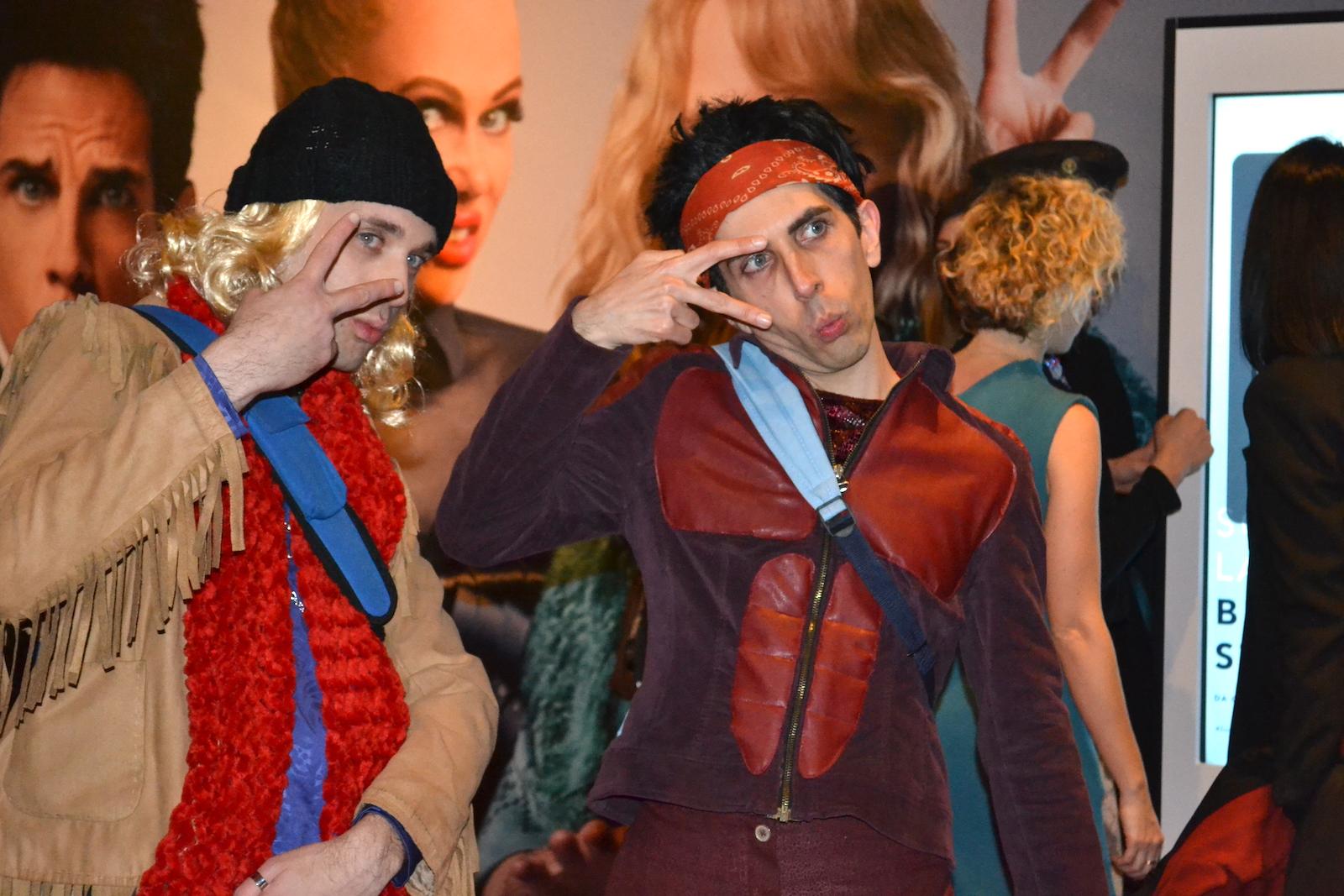 Zoolander 2: due cosplayer alla Fantastic Zoolander Night
