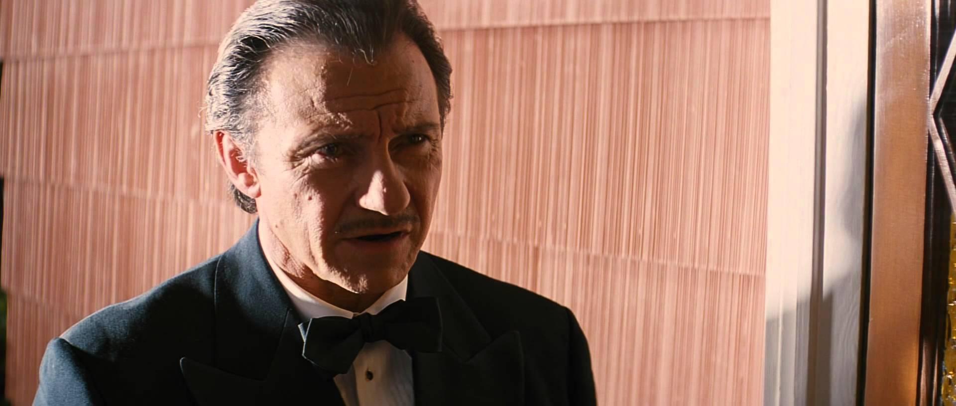 Harvey Keitel in una scena di Pulp Fiction