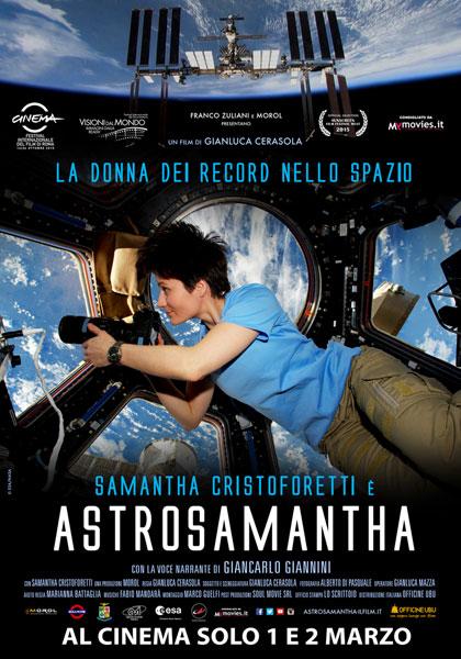 Locandina di Astrosamantha - La donna dei record nello spazio