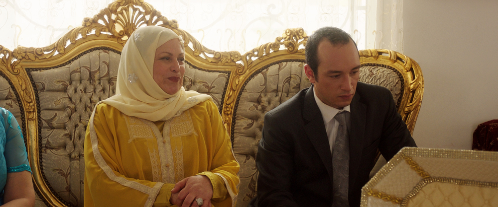 Hedi: Sabah Bouzouita e Majd Mastoura in una scena del film