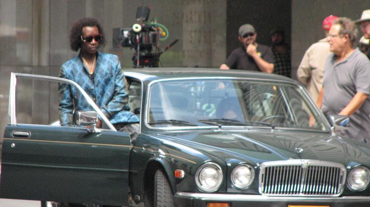 Miles Ahead: Don Cheadle sul set del film da lui diretto e interpretato