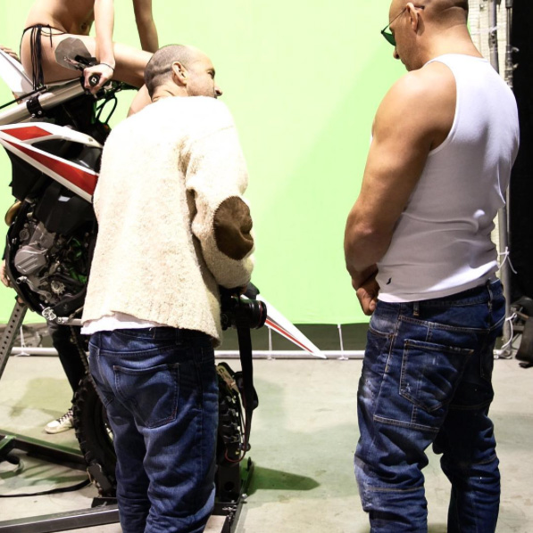 XxX: The Return of Xander Cage - ViN Diesel sul set