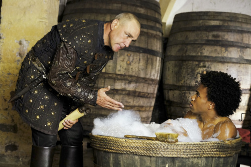 Galavant: gli attori Vinnie Jones e Luke Youngblood