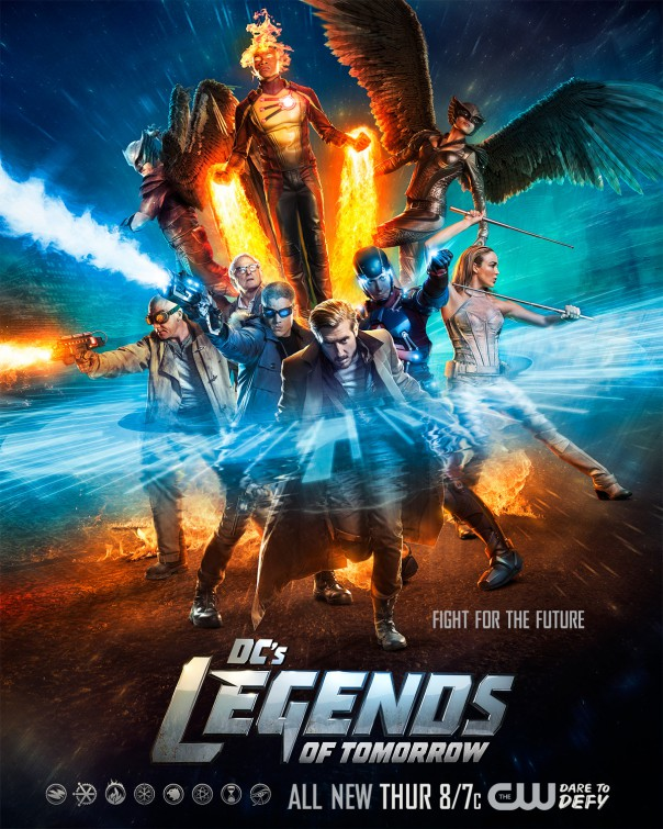 Legends of Tomorrow: un poster della prima stagione