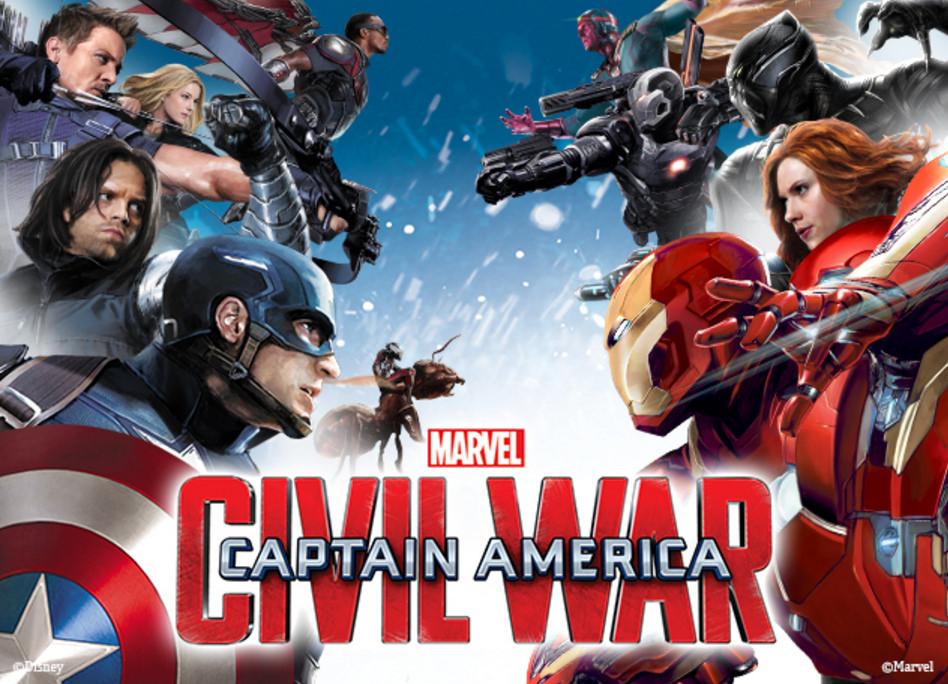 Captain America: Civil War - I due team in un nuovo banner