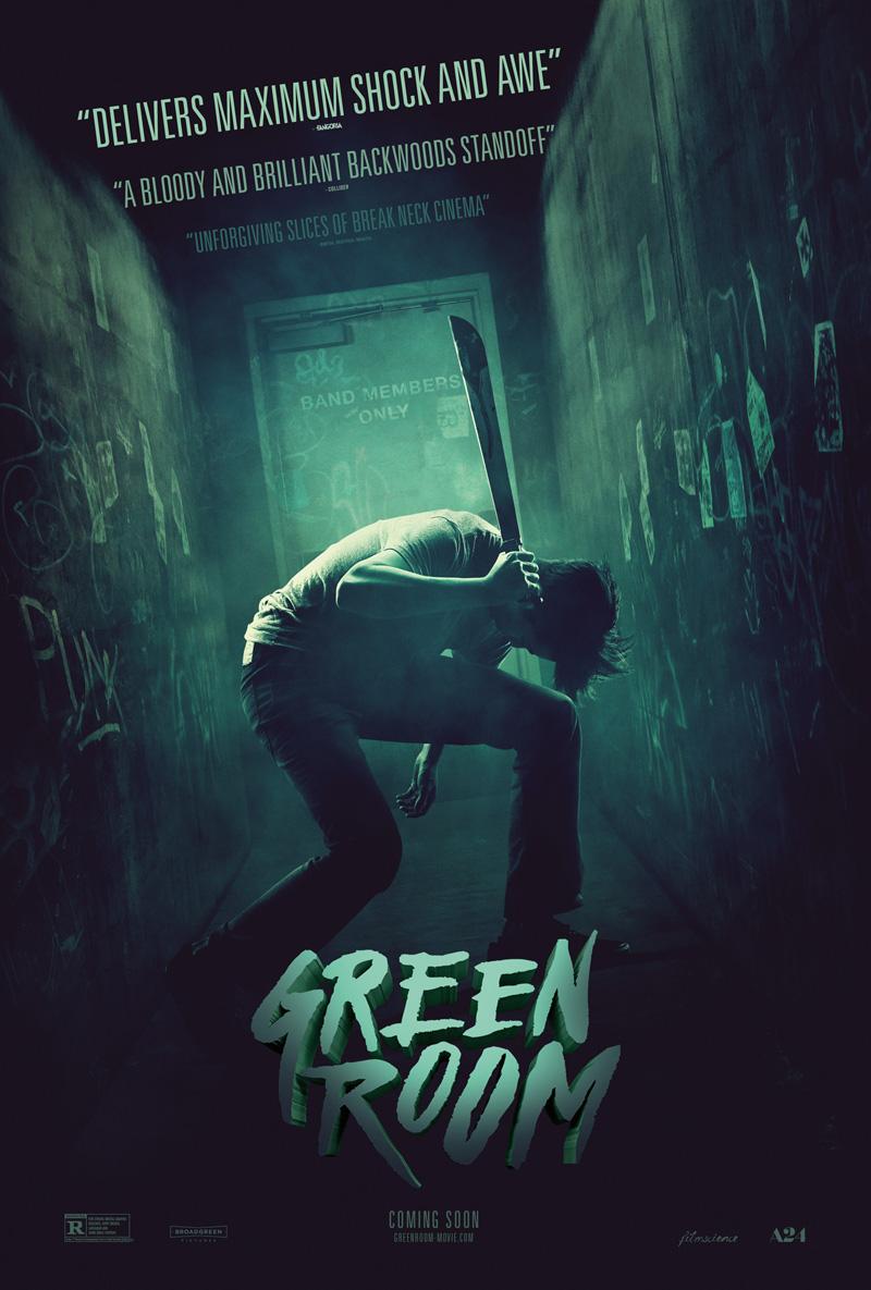 Green Room - Una nuova locandina