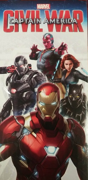 Captain America: Civil War - Un poster del team di Iron Man