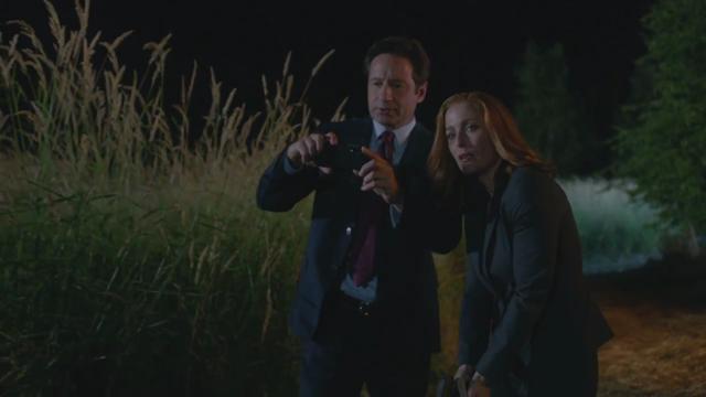 X-Files: David Duchovny con la sua nuova app insieme a Gillian Anderson nell'episodio La lucertola mannara