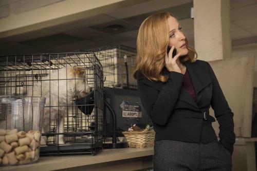 X-Files: Gillian Anderson nell'episodio La lucertola mannara