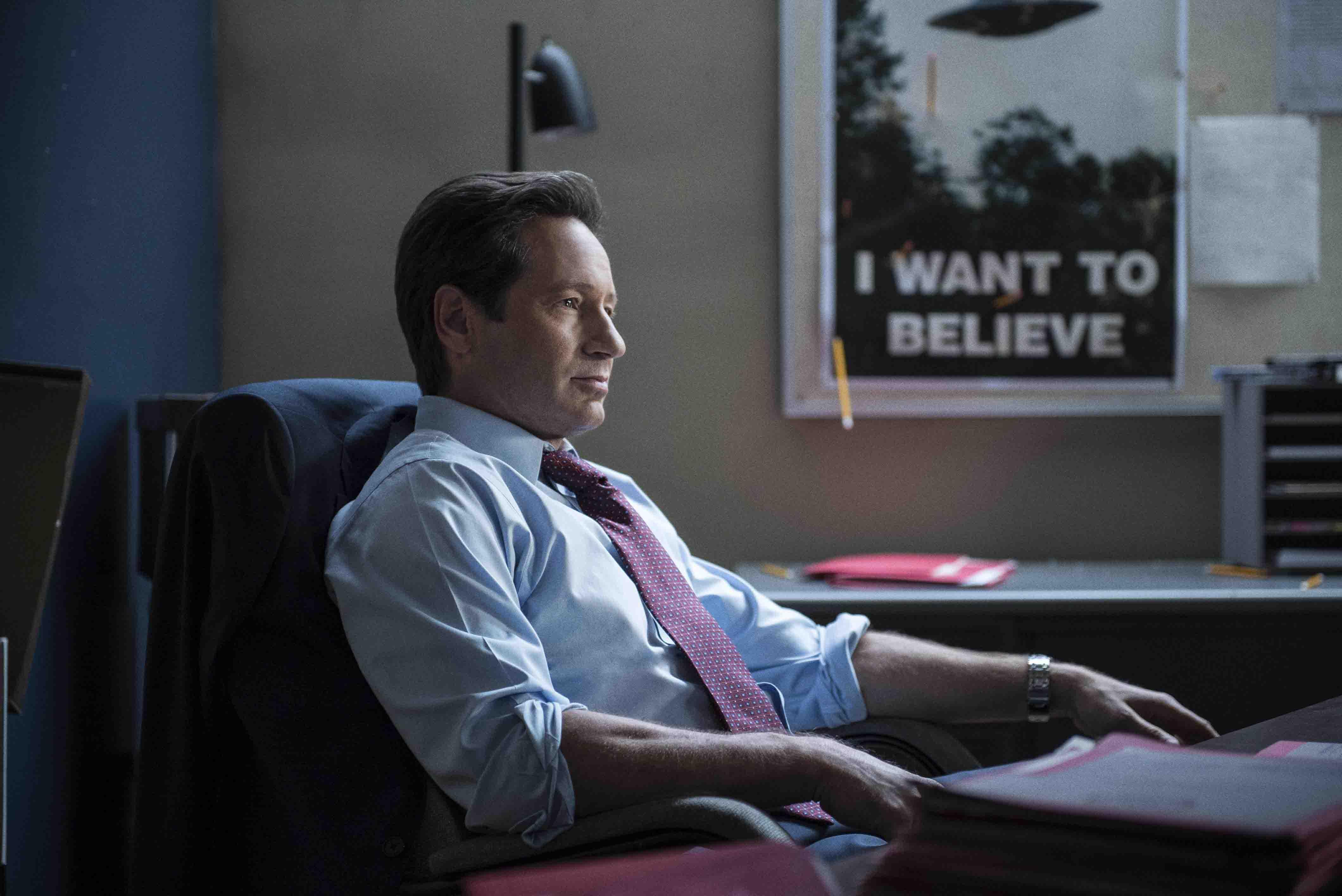 X-Files: David Duchovny nell'episodio La lucertola mannara