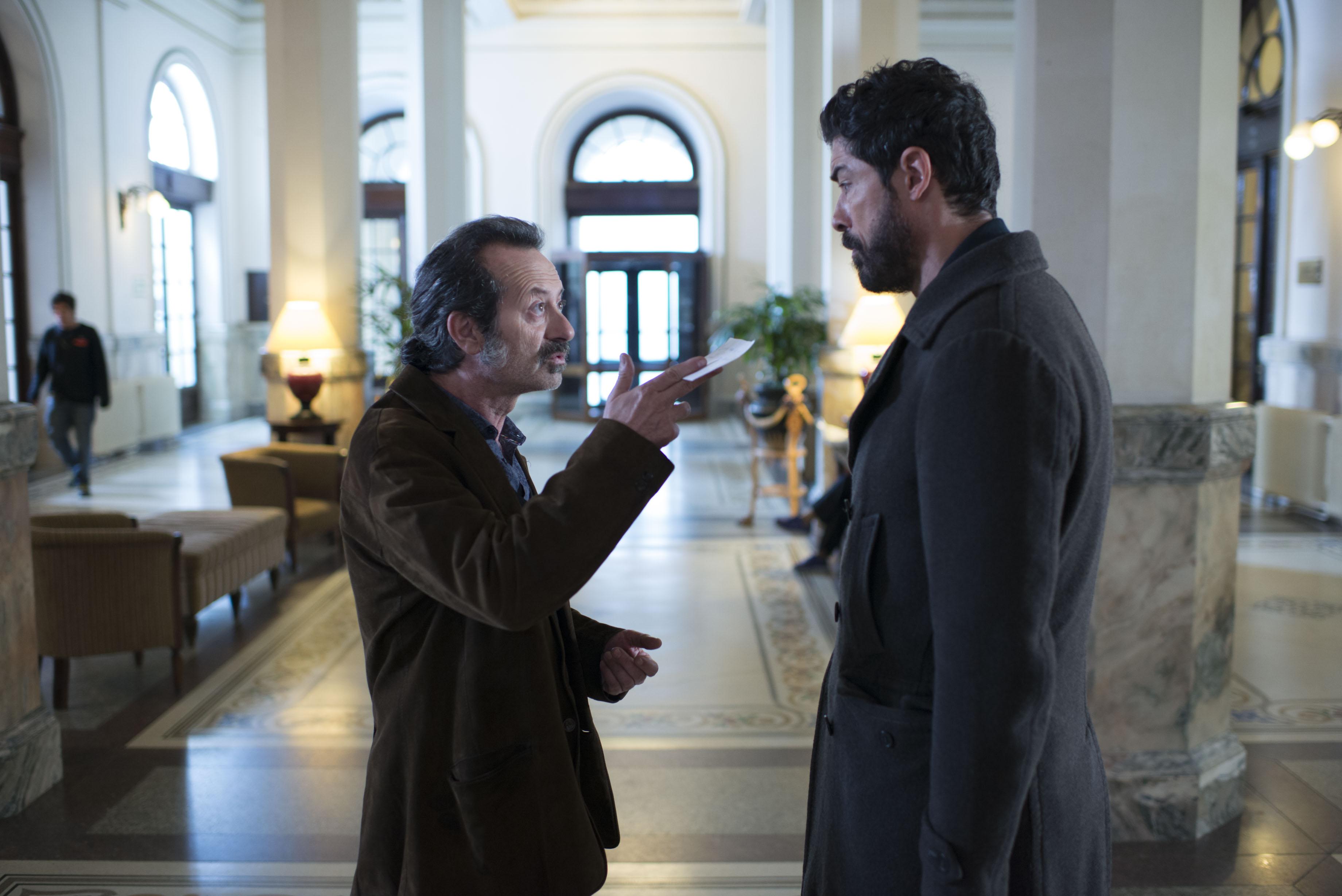Alessandro Gassman con Rocco Papaleo in Onda su onda.