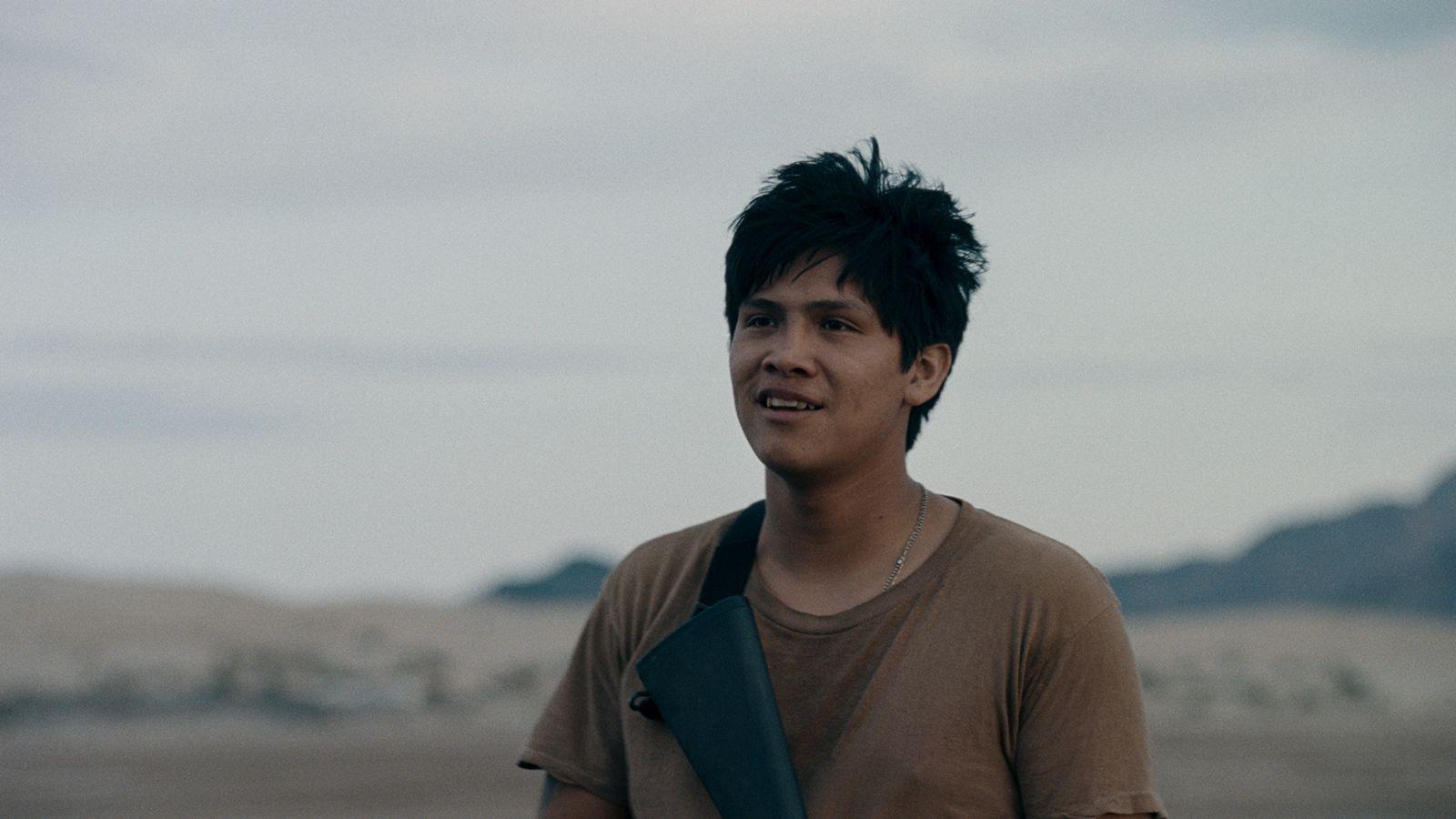 Soy Nero: Johnny Ortiz in una scena del film