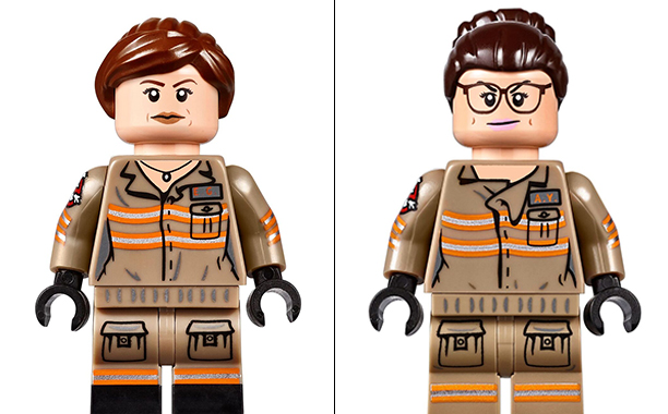 Ghostbusters: due delle protagoniste nel set LEGO
