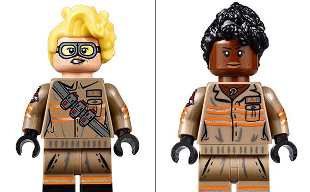 Ghostbusters: alcuni dei personaggi contenuti nel set LEGO
